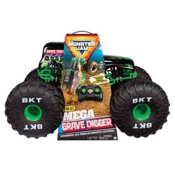 Monster Jam Mega Radio Control Grave Digger Fire
