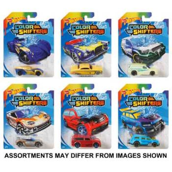 Hot Wheels Color Change Car assorted ( ONLY SOLD in Carton of 10 )