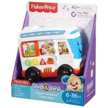 Fisher Price Laugh & Learn Bus