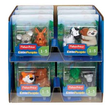 Fisher Price Little People Animal Figure 2 Pack assorted ( ONLY SOLD in Carton of 12 )