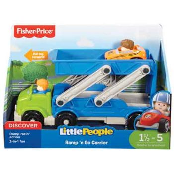 Fisher Price Little People Wheelies Car Carrier
