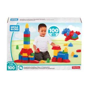 Mega Bloks Imagination Building 100pc Classic
