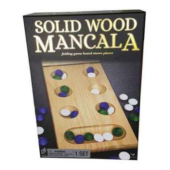 Classic Wooden Folding Mancala