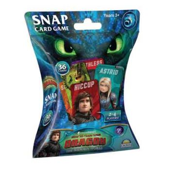 Hot to Train Your Dragon 3 Snap Card Game