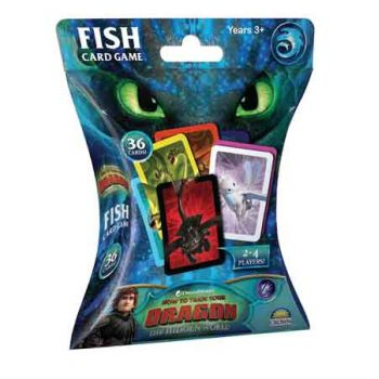 Hot to Train Your Dragon 3 FISH Card Game