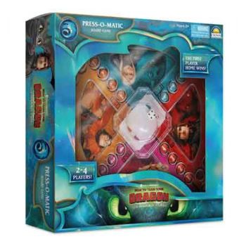How to Train Your Dragon 3 Press-O-Matic Game