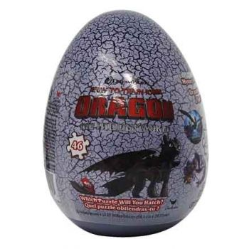 How to Train Your Dragon 3 Puzzle Egg 46pce assorted