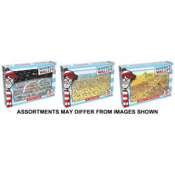 Where's Wally 300pce Puzzle assorted