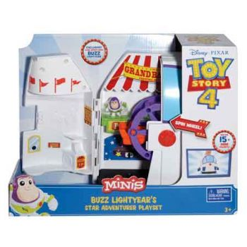 Toy Story 4 Mini Buzz Lightyear Playset ( ONLY SOLD in Carton of 2 )