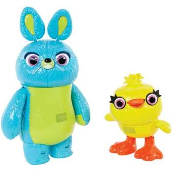 """""""Toy Story 4 7"""""""" Furry & Feathers Interactive 2 Pack"""""""