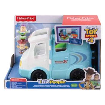 Fisher Price Little People Toy Story 4 RV