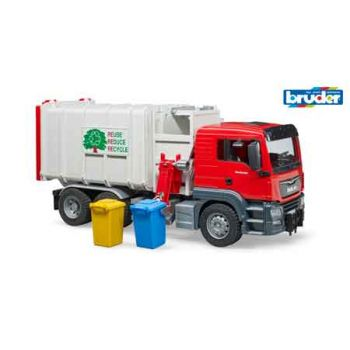 Bruder 1:16 MAN TGA Side Loading Garbage Truck