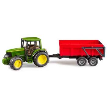 Bruder 1:16 John Deere 6920 with Tipping Trailer