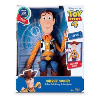 Toy Story 4 Deluxe 12 inch Talking Sherrif Woody