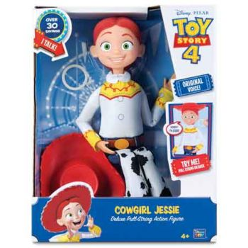 Toy Story 4 Deluxe 14 inch Talking Cowgirl Jessie