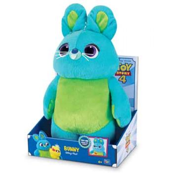 Toy Story 4 Deluxe 16 inch Talking Bunny