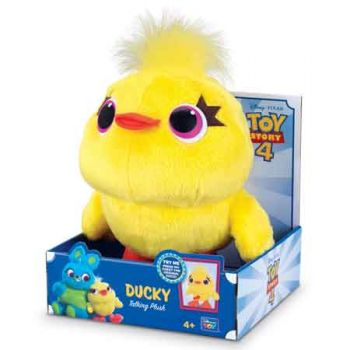 Toy Story 4 Deluxe 9 inch Talking Ducky