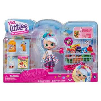 Shopkins Real Littles Trolley & Shoppie Pack