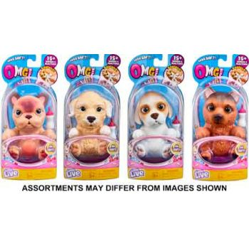 Little Live Pets OMG Pets Single Pack assorted ( ONLY SOLD in Carton of 3 )