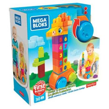 Mega Bloks Count & Bounce Giraffe