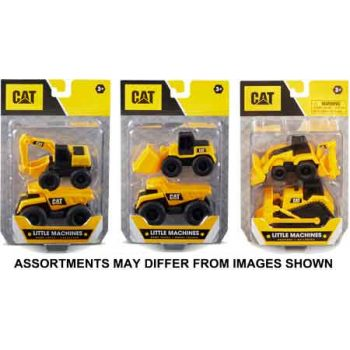 CAT Mini Machines 2pk assorted ( ONLY SOLD in Carton of 6 )