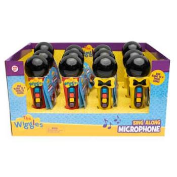 The Wiggles Microphone assorted