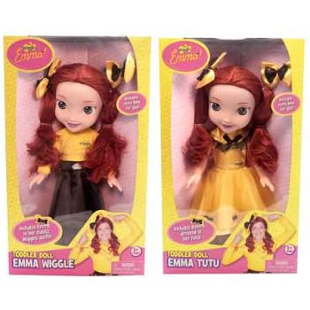 """""""The Wiggles 15"""""""" Emma Doll with Bow for You assorted"""""""