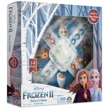 Frozen 2 Press-O-Matic Game