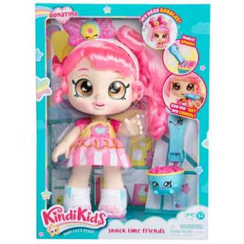 Kindi Kids Toddler Doll - Snack Time Friends Donatina