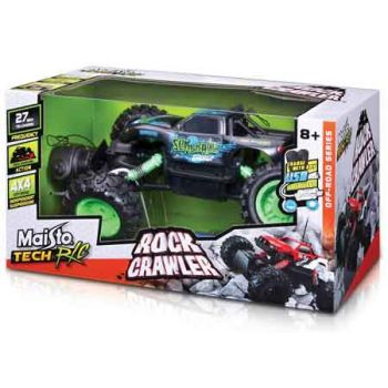 Maisto Radio Control Rock Crawler 4x4 with USB & Ni-MH Battery