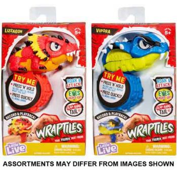 Little Live Wraptiles assorted ( ONLY SOLD in Carton of 2 )