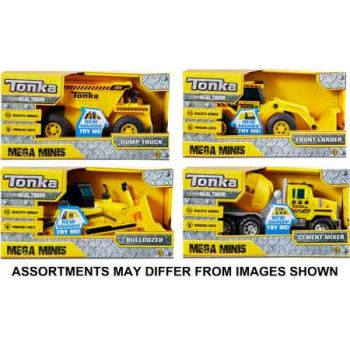 Tonka Mega Mini Construction assorted assorted ( ONLY SOLD in Carton of 4 )