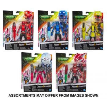 Power Rangers 6 inch Figures assorted ( ONLY SOLD in Carton of 8 )