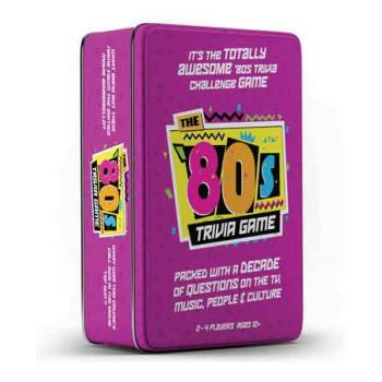 The 80's Trivia Game in Tin