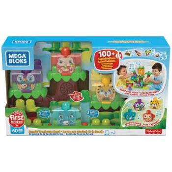 Mega Bloks First Builders Musical Jungle