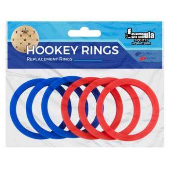 Formula Sports Replacement Hookey Rings 6pk