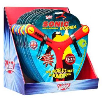 Wicked Sonic Boomer assorted ( ONLY SOLD in Display of 18 )