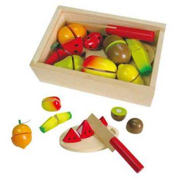 Wooden Cutting Fruit Box