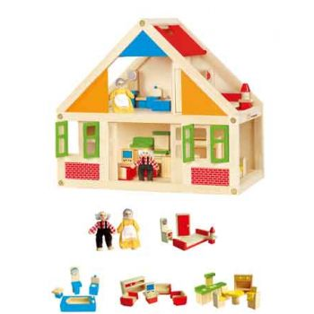 Viga Wooden Doll House