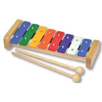 Wooden Xylophone Metal 8 Tone