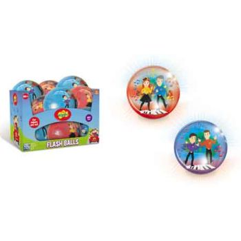 The Wiggles Light Up Ball assorted ( ONLY SOLD in Display of 12 )