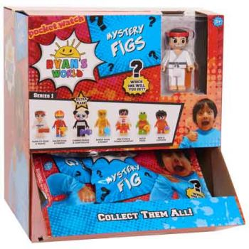 Ryan's World Figure Blind Bags ( ONLY SOLD in Display of 16 )