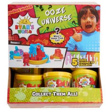 Ryan's World Ooze Universe ( ONLY SOLD in Display of 18 )