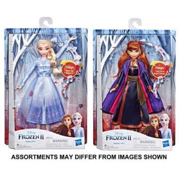 Frozen 2 Singing Doll assorted