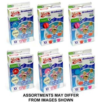 Nippas Arm Bands Small/Large assorted ( ONLY SOLD in Display of 6 )