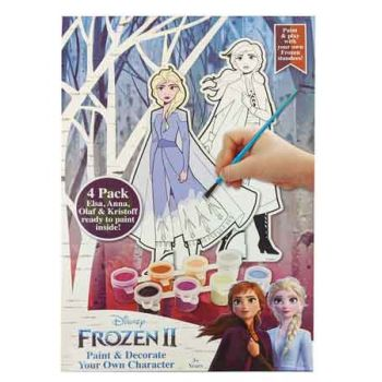 Frozen 2 Paint Your Own 4 Pack Figures