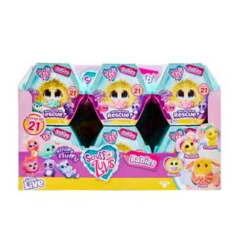 Scruff-A-Luv's Baby's Single Pack assorted ( ONLY SOLD in Display of 12 )