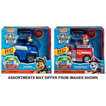 Paw Patrol Radio Control Chase & Marshall assorted ( ONLY SOLD in Carton of 2 )