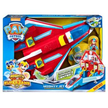 Paw Patrol Mighty Pups SuperPaws Mighty Jet Command Centre
