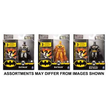 """""""Batman 4"""""""" Basic Figure with Accessories assorted ( ONLY SOLD in Carton of 6 )"""""""